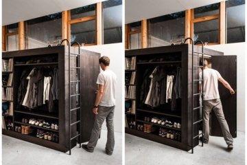เฟอร์นิเจอร์กล่อง..มีครบทั้งตู้ เตียง ชั้นวางของ ห้องเก็บของ รวมอยู่ในชิ้นเดียว