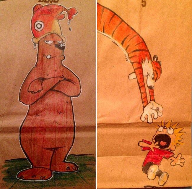 20140620 201919 73159820 ยอดคุณพ่อนักวาด.. วาดภาพการ์ตูนบนถุงอาหารกลางวันของลูกชายทุกวันตลอด2ปี