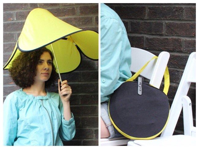 Drop..ร่มแนวใหม่ ใช้ความอ่อนสยบพายุลมแรง 13 - umbrella