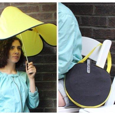 Drop..ร่มแนวใหม่ ใช้ความอ่อนสยบพายุลมแรง 16 - umbrella