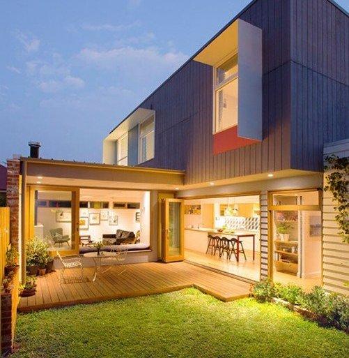 บ้านสีสันสดใส..แม้งบจำกัด แต่ดูดี งดงาม ลงตัวไปหมด 32 - แบบบ้าน