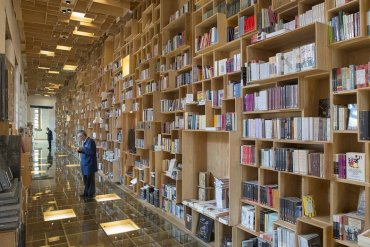 BookShop Covered in Boxes ห้องสมุดในตึกประวัติศาสตร์เก่า 26 - Shopping