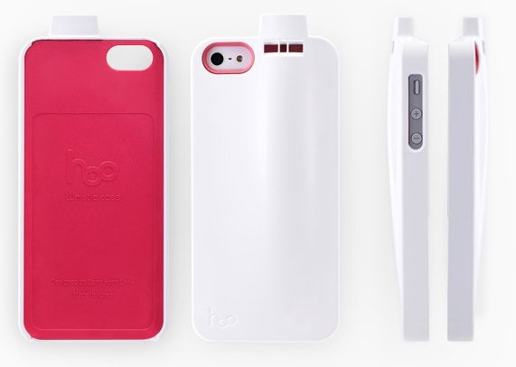 hoo whistle case for iphone 5 4 Hoo Whistle IPhone Case เคสไอโฟนเป่าปรี๊ดๆปู๊ดๆ