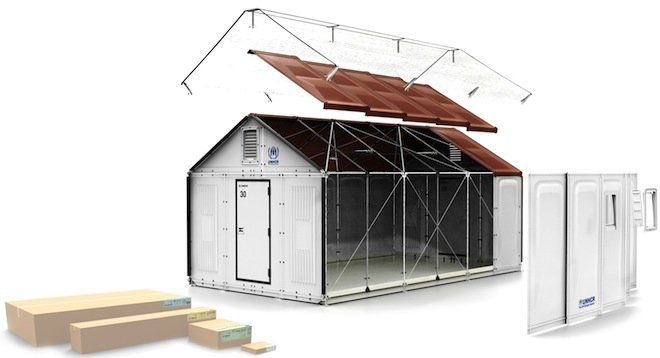 ikea rendering2 Refugee Housing Unit บ้านสำหรับผู้อพยพ by IKEA Foundation