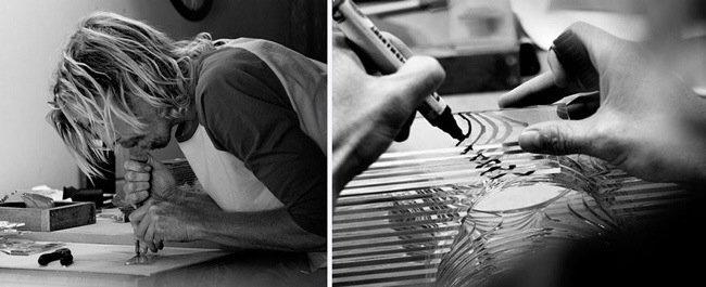 20140702 094821 35301586 ศิลปินที่เรียนรู้ด้วยตัวเอง สร้างงานจากแผ่นกระจกประกบหลายๆชั้นเป็นคลื่นในมหาสมุทร