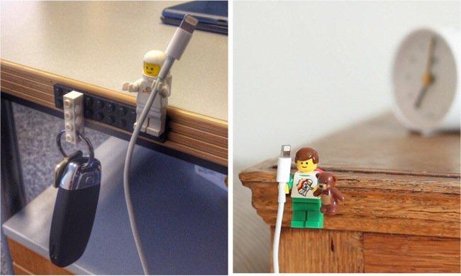 20140702 205606 75366965 ใช้ประโยชน์จากตุ๊กตาเลโก้ เป็นที่จัดระเบียบยึดจับสาย iPhone