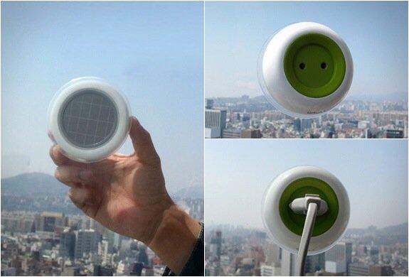 เปลี่ยนหน้าต่างเป็นแหล่งผลิตพลังงานด้วย SOLAR POWERED WINDOW SOCKET 13 - Solar Power