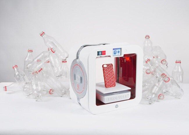 Coke และ Will.i.am ร่วมกันสร้างเครื่องพิมพ์ 3มิติ ใช้ขวดพลาสติกใช้แล้วเป็นวัตถุดิบในการพิมพ์ 13 - Coca-Cola