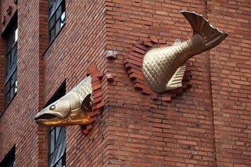 25 ประติมากรรม สุดสร้างสรรค์ทั่วโลกมีที่ไหนบ้าง 8 - street art