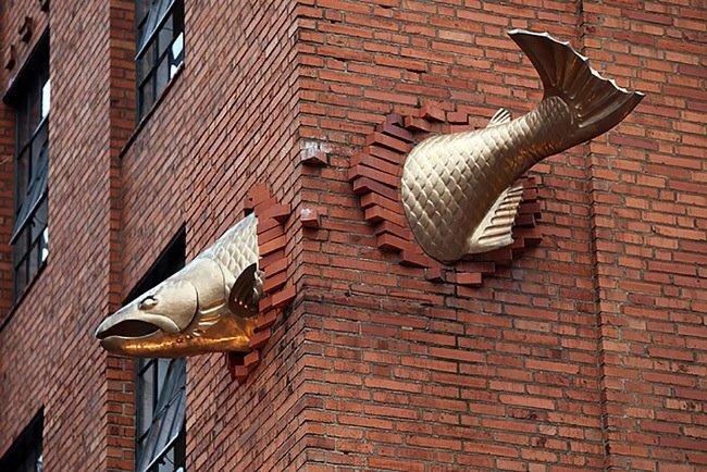 25 ประติมากรรม สุดสร้างสรรค์ทั่วโลกมีที่ไหนบ้าง 19 - street art