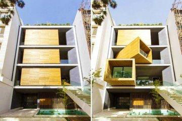 บ้านที่ปรับเปลี่ยนเคลื่อนห้องได้เพียงการกดปุ่ม 23 - บ้านขนาดเล็ก