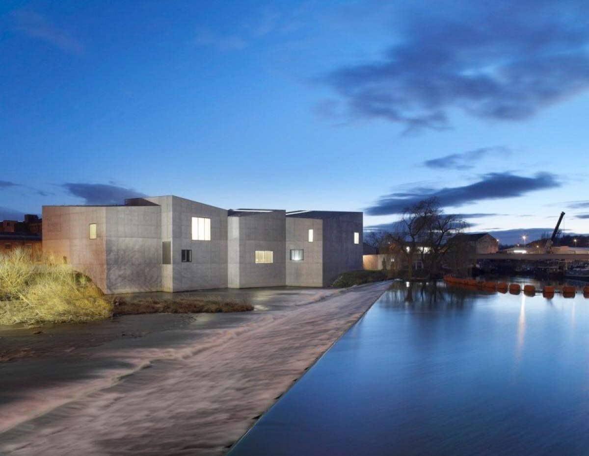 David Chipperfield Architects . Hepworth Wakefield . West Yorkshire