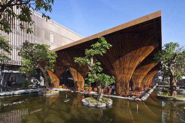world architecture festival 1 750x500 สถาปัตยกรรมจากไม้ไผ่ โดย Vo Trong Nghia Architects เป็นมิตรกับสิ่งแวดล้อม ประหยัดพลังงาน