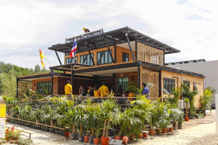 """Baan Chaan""  บ้านประหยัดพลังงาน ผลงานนักศึกษาไทยไปแข่งระดับโลก 20 - Sustainable design"