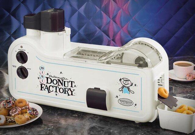 เครื่องทำโดนัทประจำบ้าน.. Mini Donut Factory 13 - ทำขนม