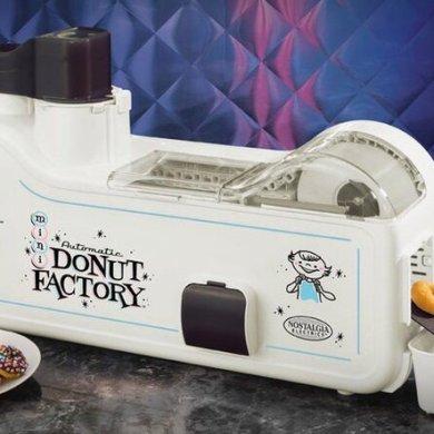 เครื่องทำโดนัทประจำบ้าน.. Mini Donut Factory 15 - ทำขนม