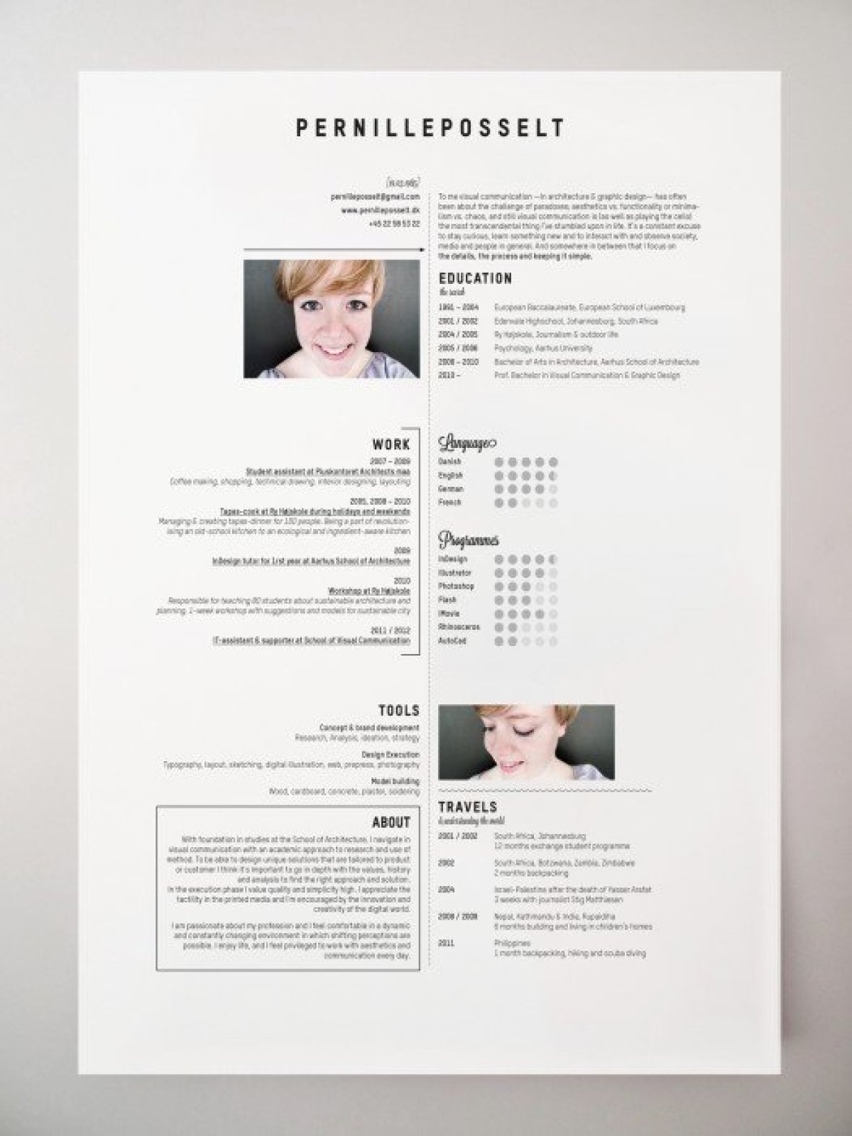 34033fea4ad82bdc56951395ec3a06b4 10 creative cv และ resume ที่สร้างตัวเองโดดเด่น