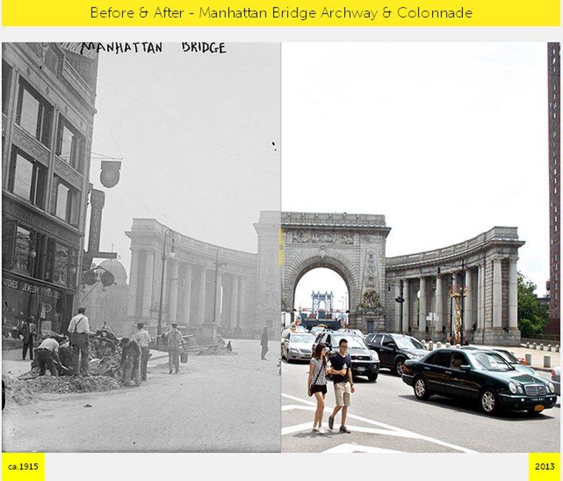 G5 NYC  GRID Before & After ภาพถ่ายเปรียบเทียบอดีต ปัจจุบัน