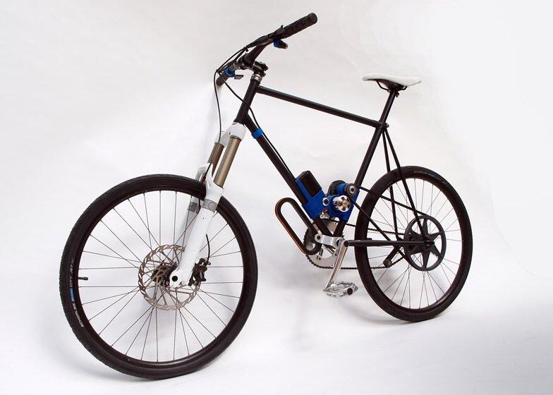 IMG 3910 Flux ...ชาร์ตไฟแบบไร้สายในเลนจักรยานระหว่างเดินทาง