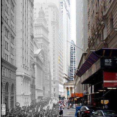 NYC- GRID Before & After ภาพถ่ายเปรียบเทียบอดีต-ปัจจุบัน 16 - ภาพถ่าย