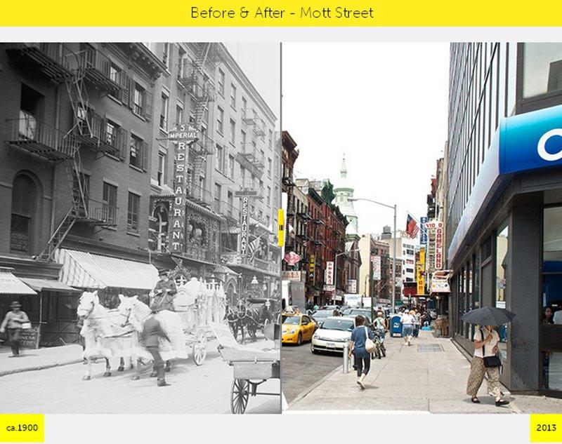 V9 NYC GRID Before & After ภาพถ่ายเปรียบเทียบอดีต ปัจจุบัน