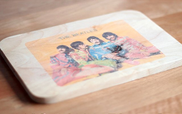 Woodtransfer 640 5 DIY Inkjet photo transfer พิมพ์ภาพลงแผ่นไม้