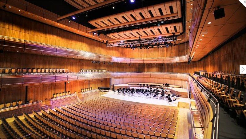 45 The Sage Gateshead ศูนย์การเรียนรู้ด้านดนตรีในภูมิภาคที่ีชื่อเสียงระดับโลก
