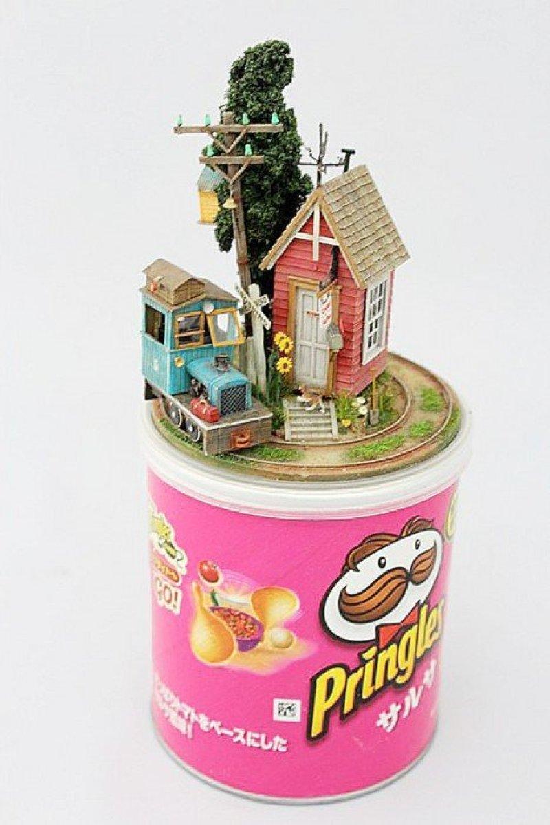 IMG 0640 Miniature Worlds from everyday objects โลกใบน้อย บนสิ่งของ