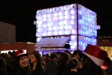 สร้างบาร์หรือบู้ธชั่วคราวด้วยกล่องใส่ของ IKEA 14 - อีเกีย