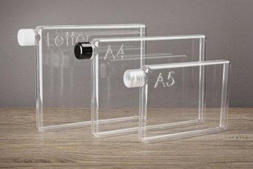 ขวดน้ำรูปร่างสี่เหลี่ยมแบนๆแบบแผ่นกระดาษ จัดเก็บในกระเป๋าสะดวก..เท่มาก! 18 - ออกแบบผลิตภัณฑ์