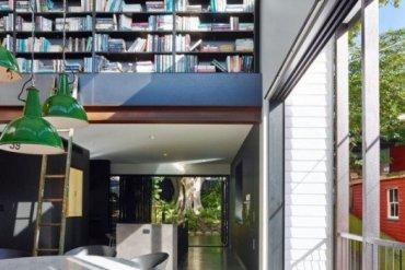 บ้านสถาปนิกในเมืองเก่า แก้ปัญหาพื้นที่จำกัดและติดถนนได้อย่างงดงามเป็นส่วนตัว 27 - แบบบ้าน