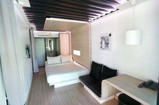 IMG 5090 650x431 SLEEP BOX Hotel แปลงตู้คอนเทนเนอร์ เป็นโรงแรมสุดชิค กลางเมืองเชียงใหม่