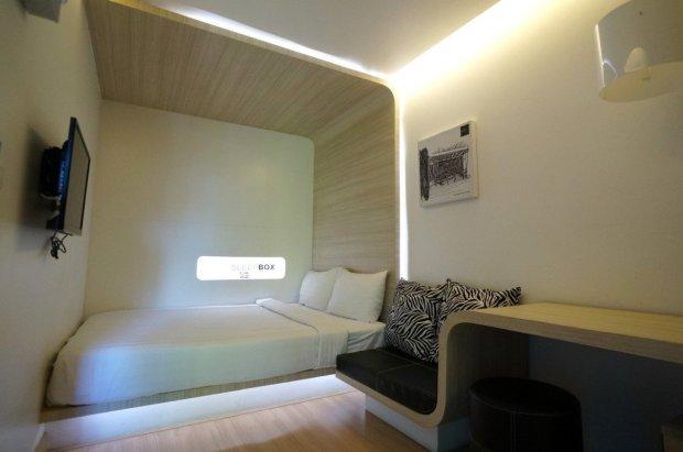 IMG 5110 650x431 SLEEP BOX Hotel แปลงตู้คอนเทนเนอร์ เป็นโรงแรมสุดชิค กลางเมืองเชียงใหม่