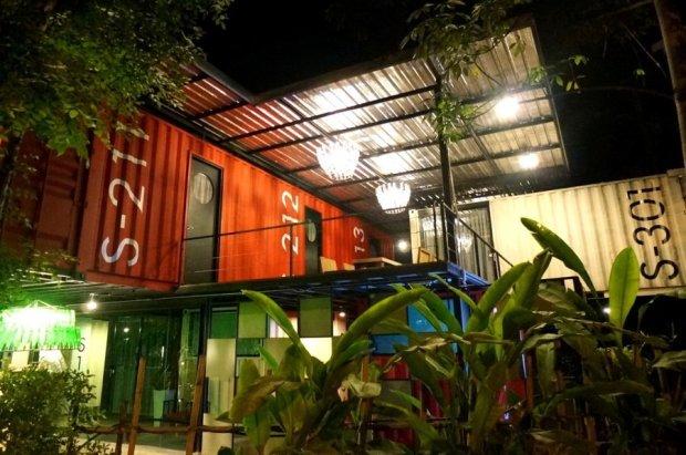 IMG 51301 650x431 SLEEP BOX Hotel แปลงตู้คอนเทนเนอร์ เป็นโรงแรมสุดชิค กลางเมืองเชียงใหม่