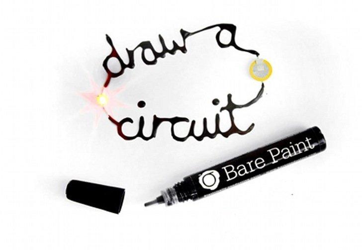 ปากกาสร้างวงจรไฟฟ้า ได้ง่ายๆ เขียนลงบนวัสดุอะไรก็ได้ 13 - LED
