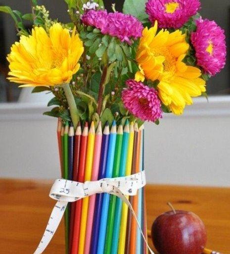 ห่อของขวัญด้วยดินสอสี.. 27 - รีไซเคิล