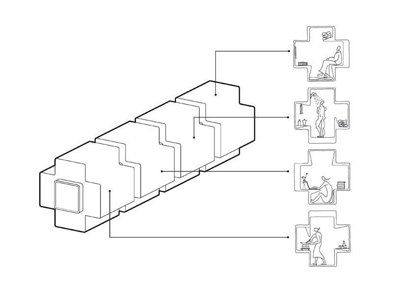IMG 5342 Micro House บ้านขนาดจิ๋วที่ยกย้ายและวางซ้อนต่อกันได้