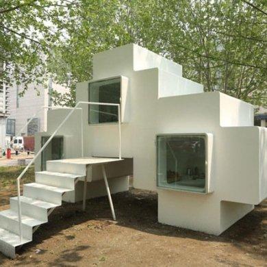 Micro House บ้านขนาดจิ๋วที่ยกย้ายและวางซ้อนต่อกันได้ 14 - micro house
