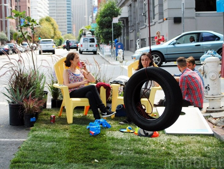 IMG 5694 Park(ing) Day 2014..เปลี่ยนถนนและที่จอดรถเป็นสวนสาธารณะกันเถอะ