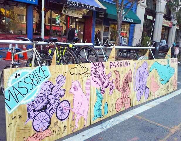 IMG 5699 Park(ing) Day 2014..เปลี่ยนถนนและที่จอดรถเป็นสวนสาธารณะกันเถอะ