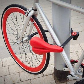 ที่นั่งจักรยาน ที่ทำหน้าที่เป็นโซ่ล็อก และที่เก็บไปในตัว 21 - Kickstarter