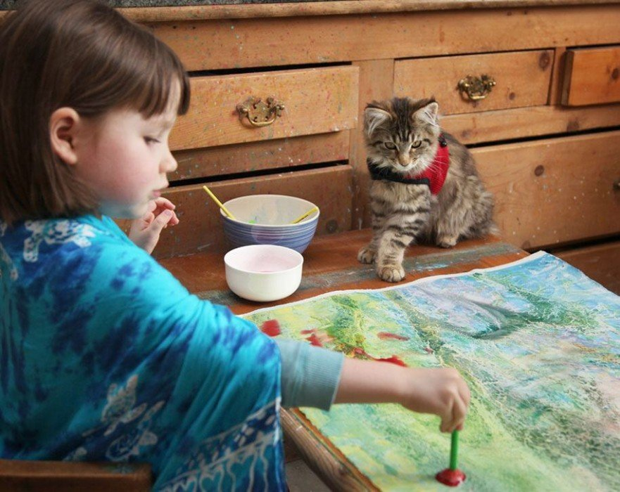IMG 5932 มหัศจรรย์ภาพวาดงดงาม โดยเด็กหญิงออติสติกวัย 5ขวบ