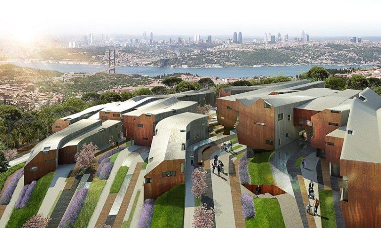 Camlica Residences,Turkey ชุมชนกับความสมดุลระหว่างพื้นที่เชิงเขา 13 - Architecture