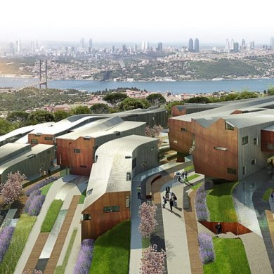 Camlica Residences,Turkey ชุมชนกับความสมดุลระหว่างพื้นที่เชิงเขา 17 - Architecture