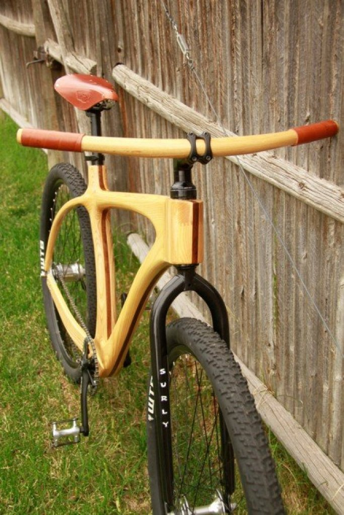 connor long fork จักรยานเฟรมไม้ Connor Wood Bicycles
