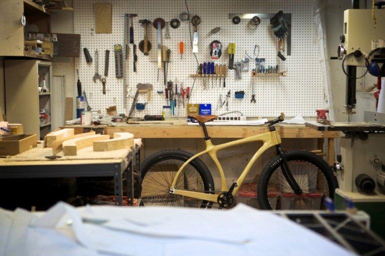 จักรยานเฟรมไม้ Connor Wood Bicycles 31 - จักรยาน