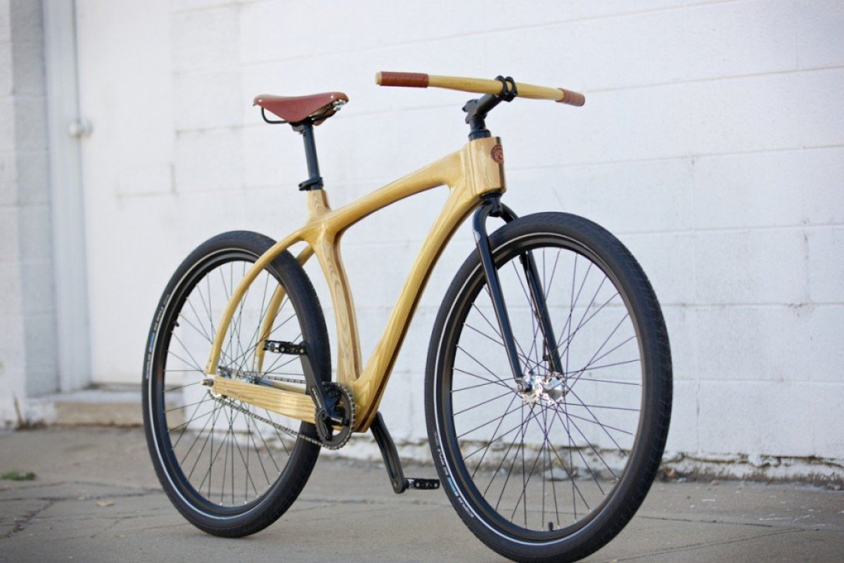 connor scorcher 29 จักรยานเฟรมไม้ Connor Wood Bicycles