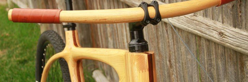 denver wood bike จักรยานเฟรมไม้ Connor Wood Bicycles