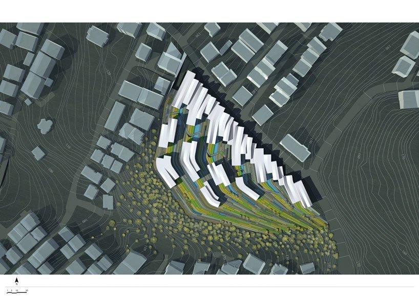 designboom camilca04 Camlica Residences,Turkey ชุมชนกับความสมดุลระหว่างพื้นที่เชิงเขา