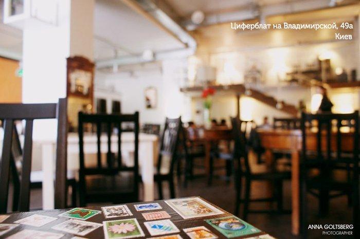 ziferyblatkiev13 ร้านกาแฟจับเวลาคิดเงิน